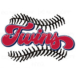 Twins Baseball Minnesota Sublimation transfers - Heat