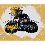 WEST VIRGINIA PUMPKINS Screen Print FULL COLOR Can go on any