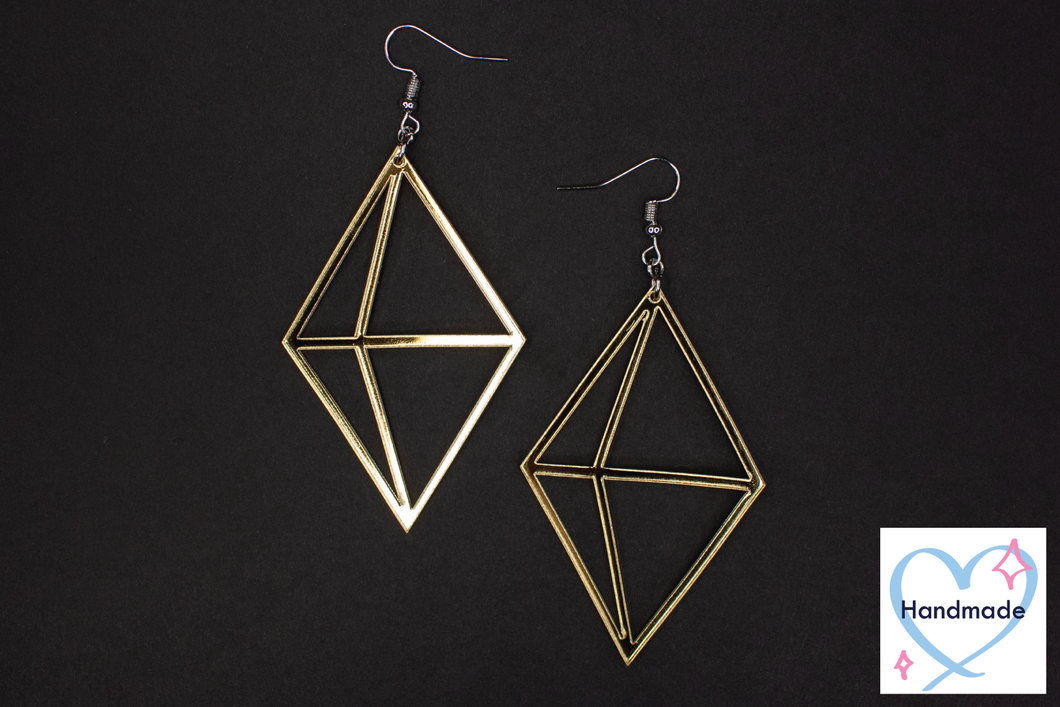 Crystal Shard Earrings (additional colors available!)
