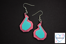 Load image into Gallery viewer, Geometric Fire Earrings