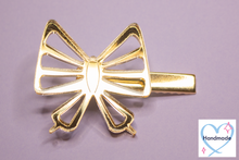 Load image into Gallery viewer, Gold Butterfly Hair Clip