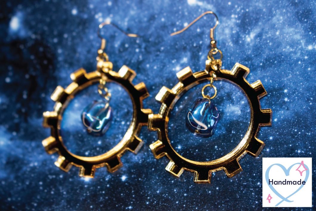Time and Space Earrings