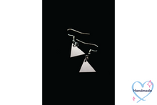 Load image into Gallery viewer, Triangle Earrings (Stainless Steel)