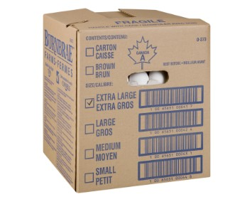 BURNBRAE EGG EXTRA LARGE GRADE A LOOSE (1/15DZ)