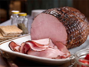 MAPLE LEAF HAM BLACK FOREST STYLE FRESH (Assorted Sizes) Average Case Cost - Item Priced by KG