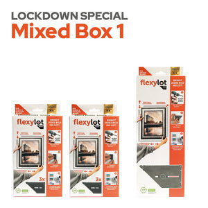 Lockdown Special Mixed Box 1: 2 flexylot Basic + 1 flexylot Pro
