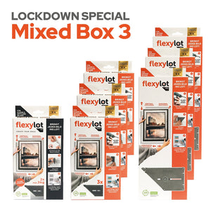Lockdown Special Mixed Box 3: 1 flexylot Fix + 3 flexylot Basic + 3 flexylot Pro