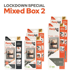Lockdown Special Mixed Box 2: 1 flexylot Fix + 2 flexylot Basic + 2 flexylot Pro