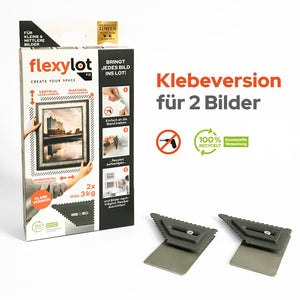 flexylot Fix - Klebeversion für 2 Bilder