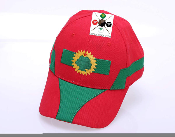 Oromia flag design Baseball Cap