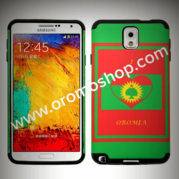 I Love Oromia, ABO Flag Design Galaxy Note 3 Case