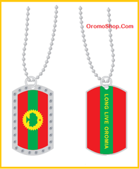 Long Live Oromia Dog tag