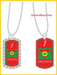 I Love Oromia Dog Tag