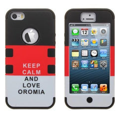 Custom Iphone Cases - Keep Calm and Love Oromia