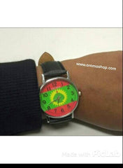 ABO flag wrist watch