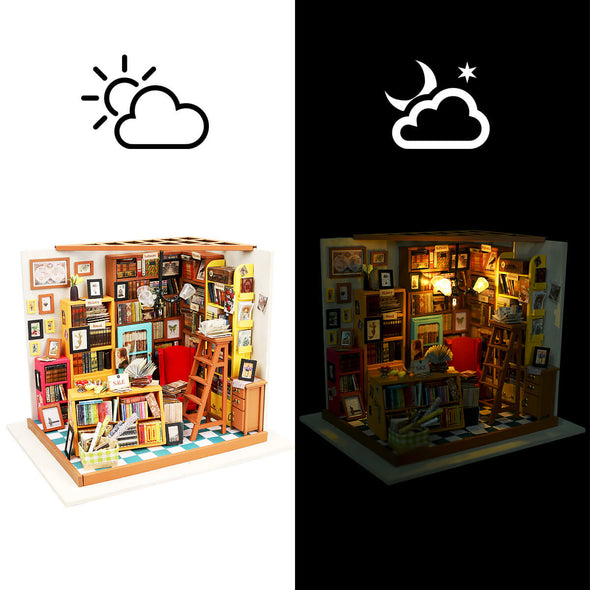DIY Dollhouse Sam Study - Creative-Mind