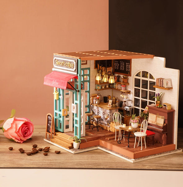 Creative Mind Weekly Model Sale - DIY Simon's Coffee Shop