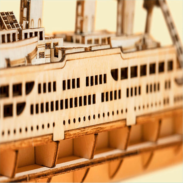 DIY Vintage Cruise Ship