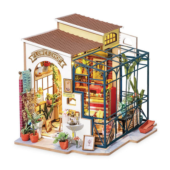 DIY Emily's Flower Shop Dollhouse