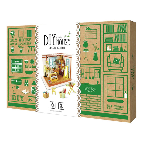 DIY Lisa's Sewing Room Dollhouse