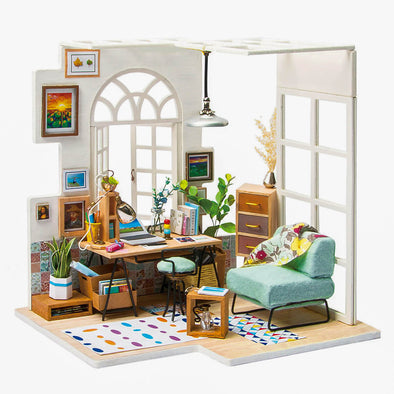 DIY Emily's Workroom Dollhouse