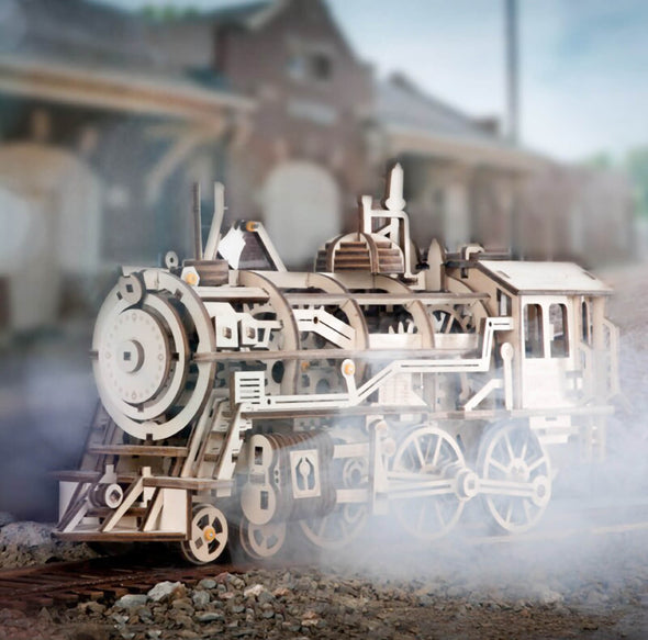 DIY Historic Locomotive Train