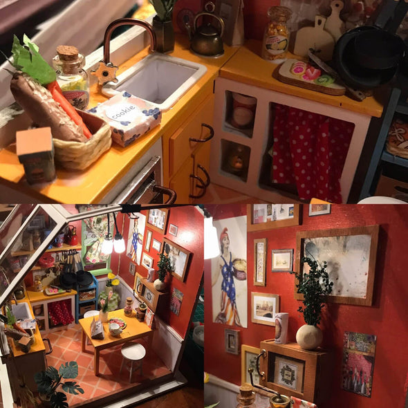 DIY Jason's Kitchen Dollhouse