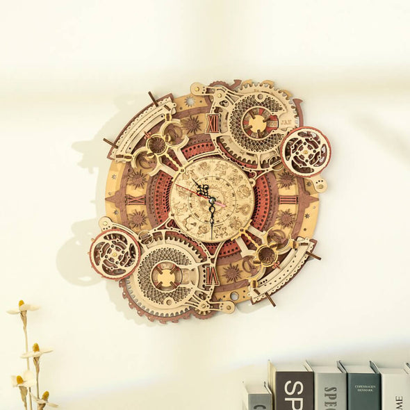 DIY Zodiac Wall Clock