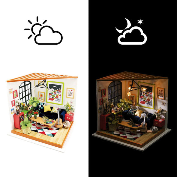 DIY Locus's Living Room Dollhouse