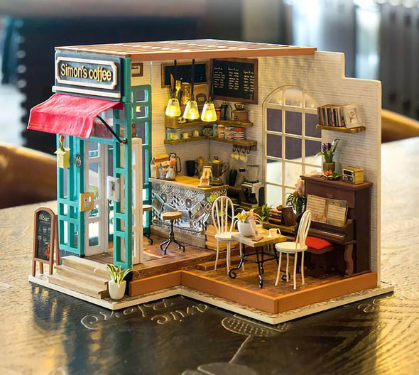 DIY Simon's Coffee Shop Dollhouse