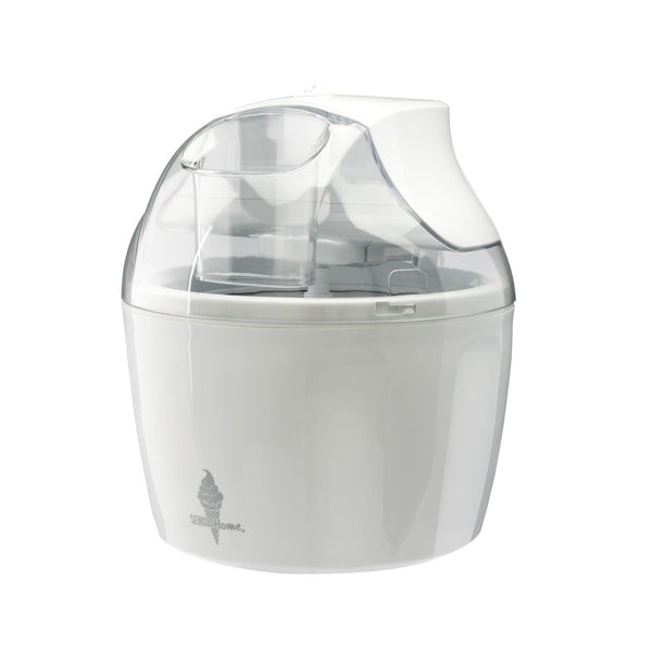Sensio Home Ice Cream Maker Machine | White