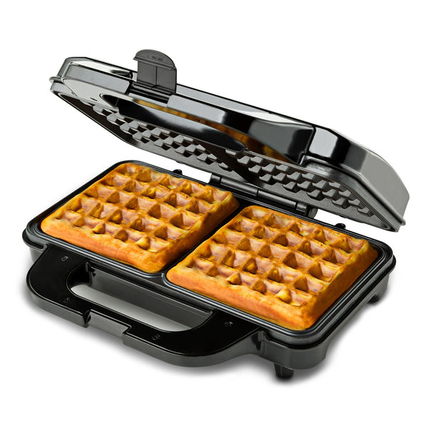 Global Gourmet by Sensio Home Square Waffle Maker Iron Machine 1000W