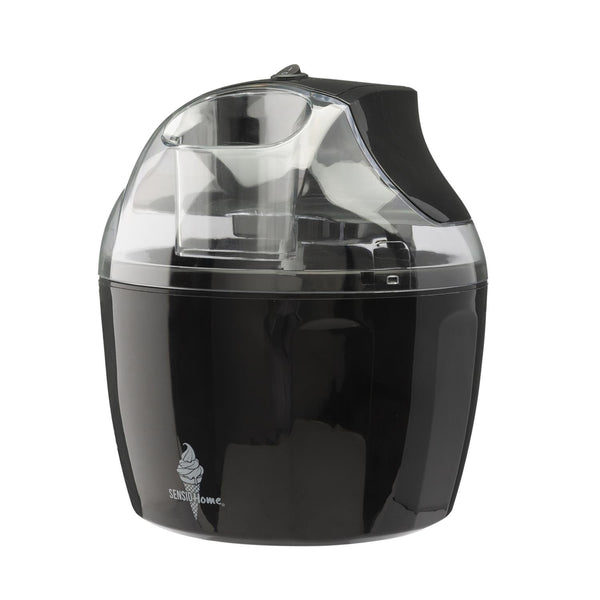 Sensio Home Ice Cream Maker Machine | Black
