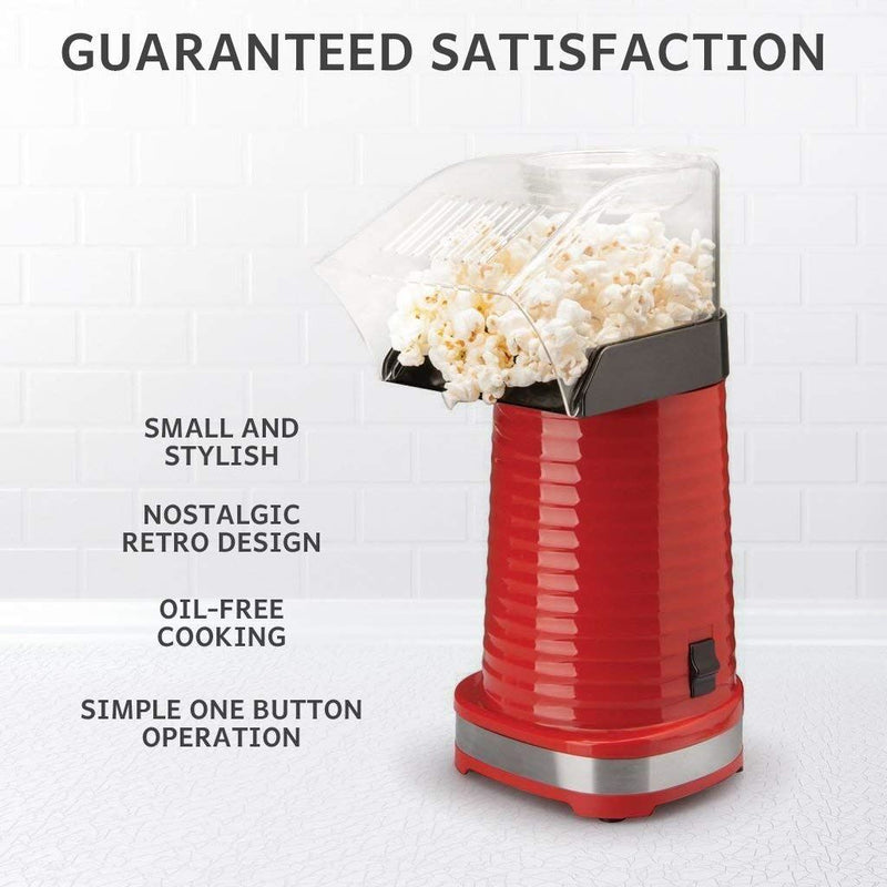 Global Gourmet by Sensio Home Popcorn Maker 1200W | Fat Free and Healthy