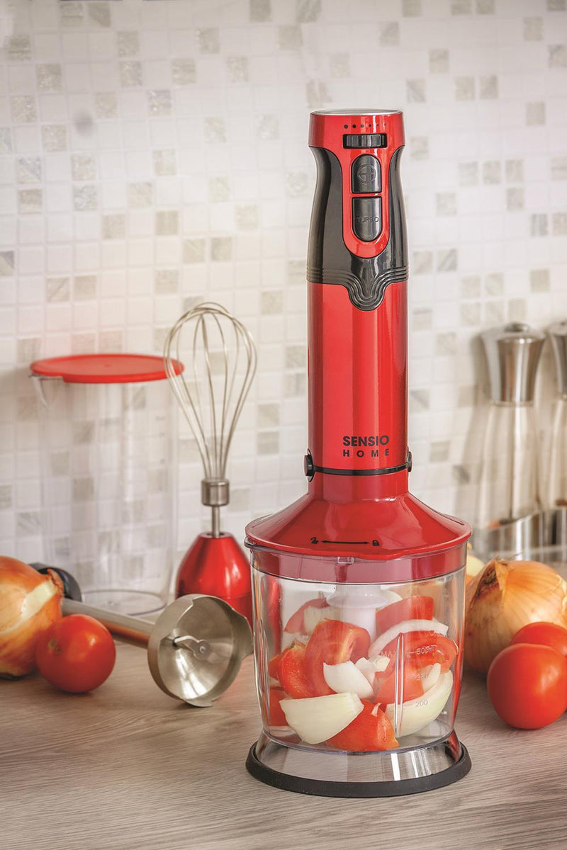 Sensio Home Hand Blender Super Powerful 1000W 4-in-1 Multi Use