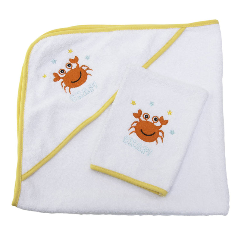 Sensio Home Quality Hooded Baby Towel, 100% Natural Cotton, 75x75 cm