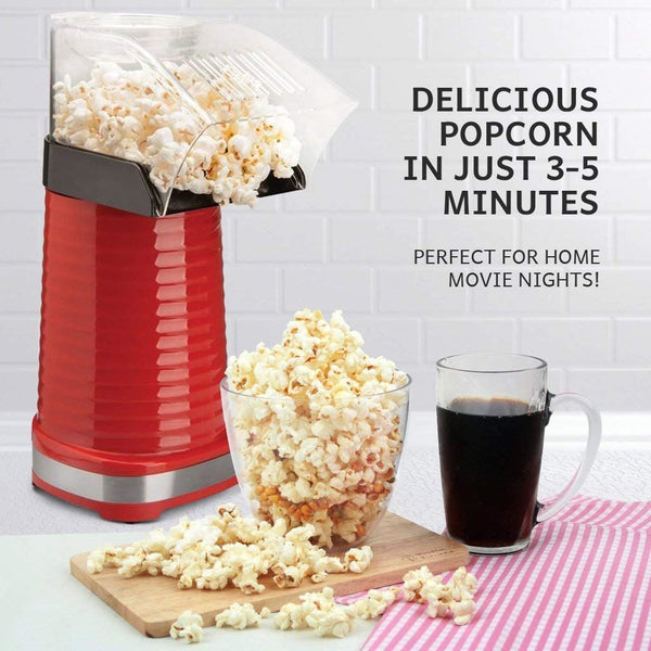Global Gourmet Popcorn Maker 1200W | Fat Free and Healthy