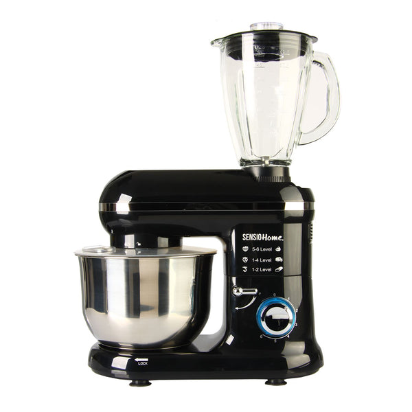Sensio Home 2-in-1 1300W Food Processor Blender & Stand Mixer Machine