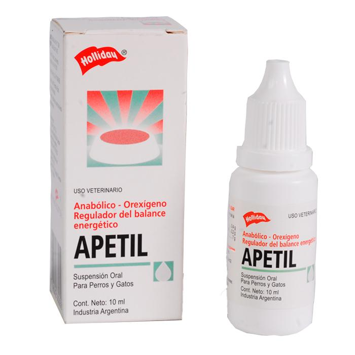Apetil Suspension Oral 10 ml | Farmacia Animales y Mascotas |  | Tierragro Colombia || Tierragro Medellin | |Envios en 24 horas Area Metropolitana |