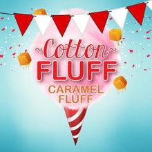 Load image into Gallery viewer, Cotton Fluff 60ml Vape Juice - Caramel Fluff