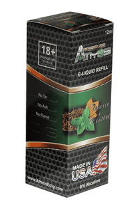 Atmos Tobacco and Menthol Juice