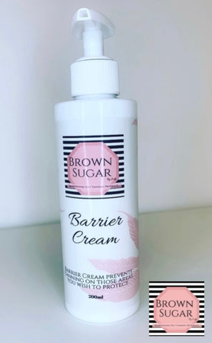 Barrier Cream - Brown Sugar Tanning Products