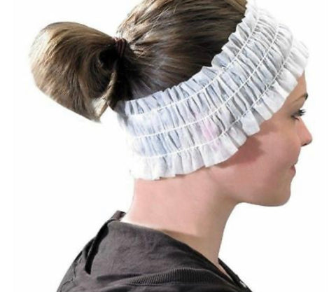 Solutions Disposable Head Bands - 100