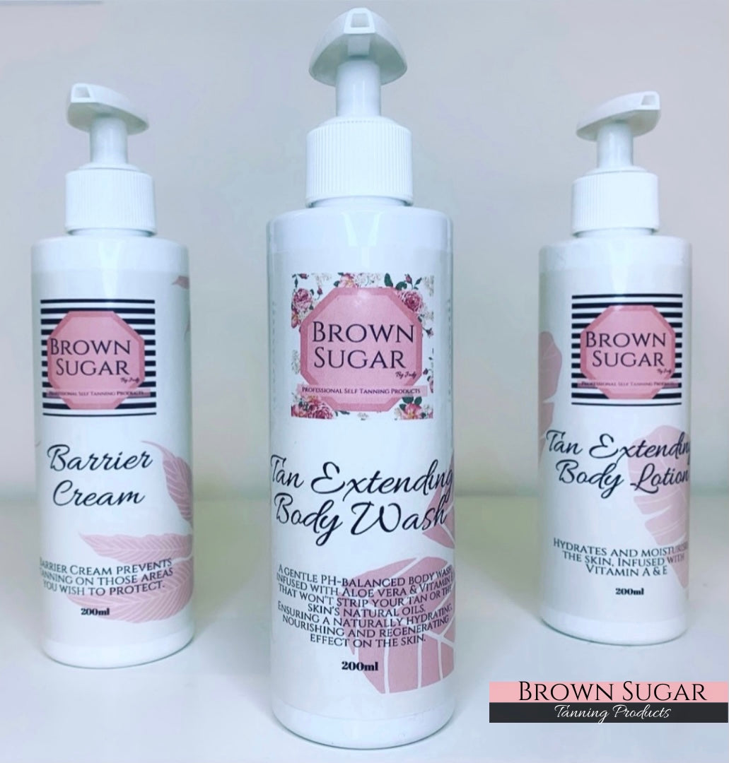 Tan Extending Body Wash - Brown Sugar Tanning Products