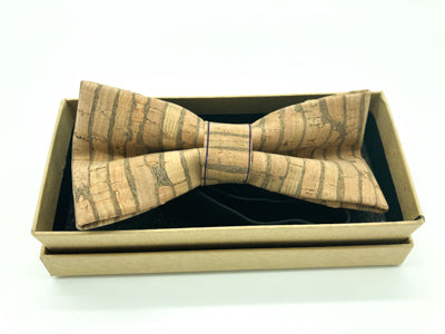 Cork Bow Tie - CBT002