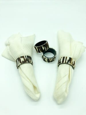 Porcupine Quill Napkin Rings