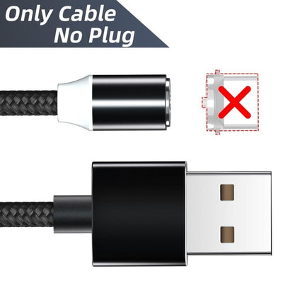 magnetic charging cable 3in1
