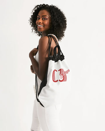 C is for...Cover! Canvas Drawstring Bag
