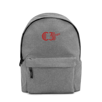 C3 Embroidered Backpack