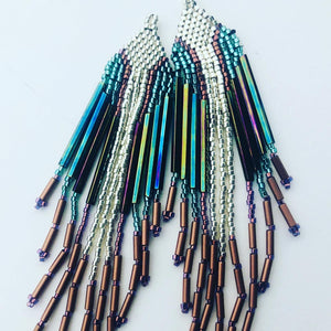 Silver and Turquoise Fringe and Free